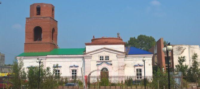 Продолжается реставрация Храма Петра и Павла в городе Камбарке