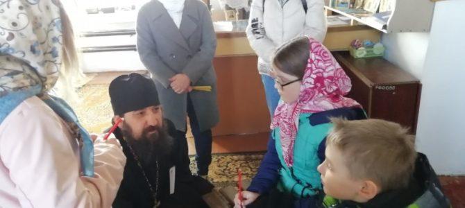Состоялась встреча с настоятелем Петропавловского Храма